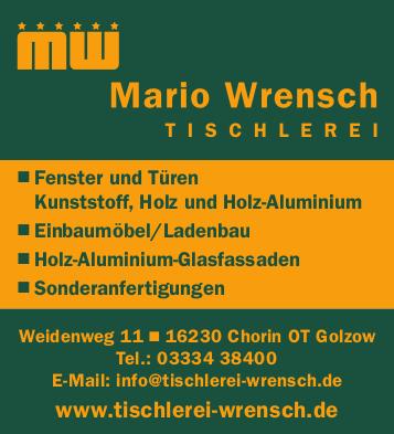 Tischlerei Mario Wrensch