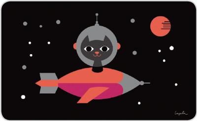 Space Cat - Brettchen
