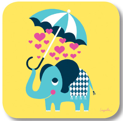 Elefant - Untersetzer