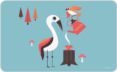Bird Party - Brettchen
