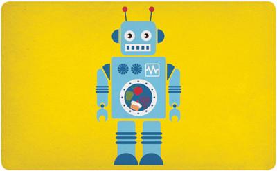 Robot - Brettchen