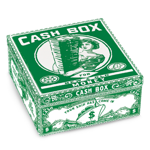 Cash Box - Petite Cigar Box