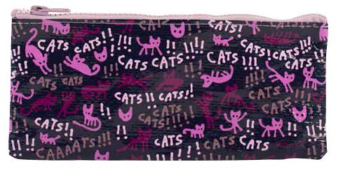 Cats! - Feder- und Kosmetiktasche