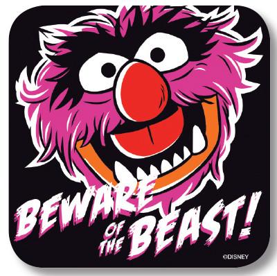 Beware Of The Beast - Untersetzer