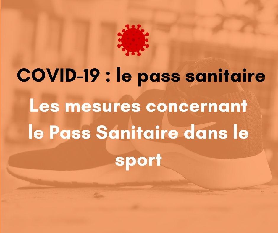 Mesures SPORTS dans le contexte de la COVID-19