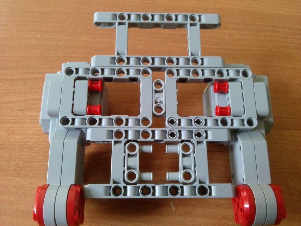 Крепление двигателей часть 2 (вид снизу)