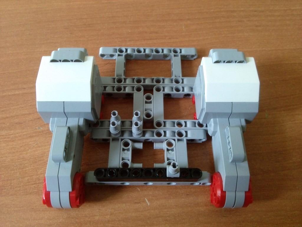 Крепление двигателей часть 2 (вид сверху)