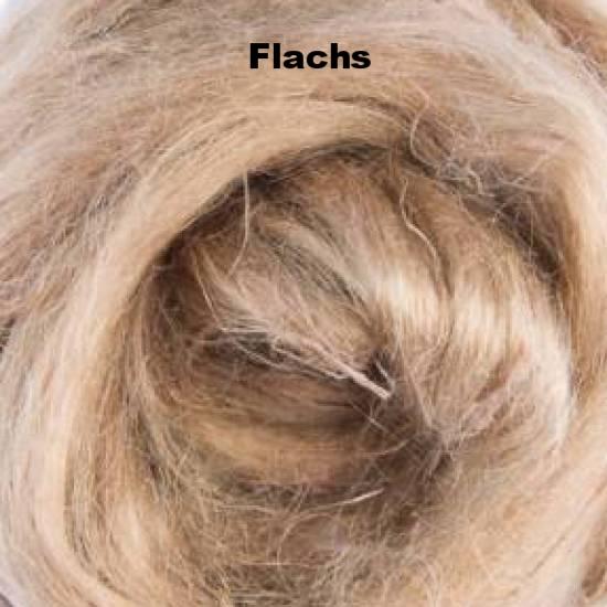 Flachs (Leinen)-fasern