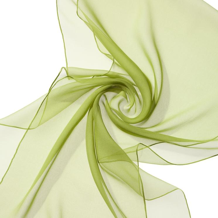 Seidenschal 230x55 cm (extra lang)