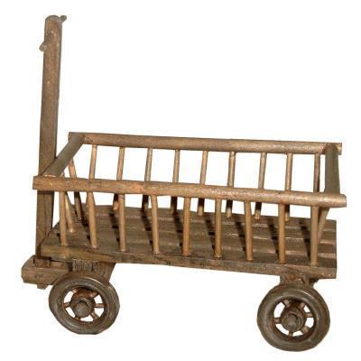 Leiterwagen Holz 14cm