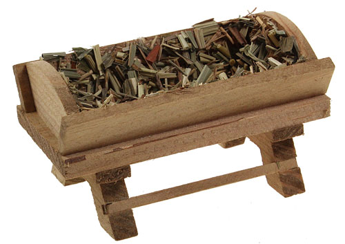 Krippe Holz 8,5cm