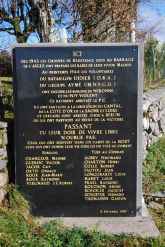 tèle commémorative du Col de Néronne (15)