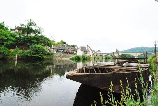 Rivière la Dordogne Gabare Argentat (19)