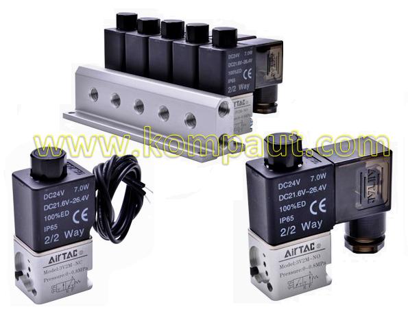 Kompaut, elettrovalvole a comando diretto Airtac serie 3V2M
