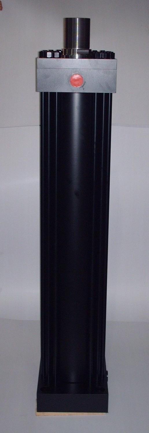 Cilindro oleodinamico, diametro 250mm, movimentazione coils lamiera, kompaut, italia, italy, varese, como,