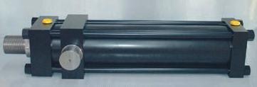 Cilindro a tiranti, cilindro oleodinamico a norme ISO 6020/2, alesaggio 160, fissaggio MT4, cilindri a tiranti, cilindri oleodinamici a tiranti,