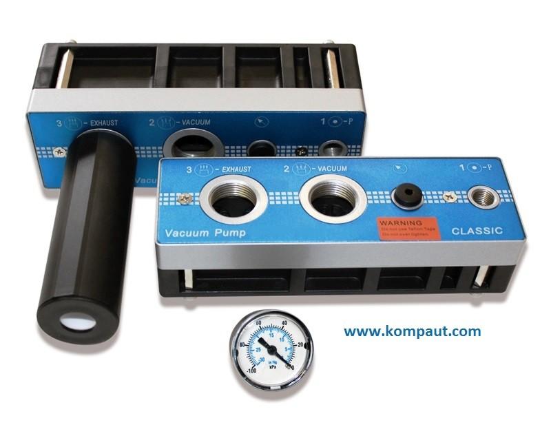 KOMPAUT - Pompe multistadio a basso consumo di aria compressa.