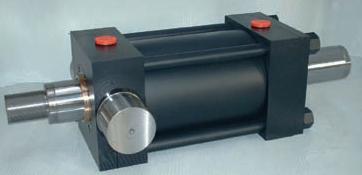 cilindro oleodinamico, cilindro a tiranti, norma iso 6020/2, cilindro a doppio stelo, alesaggio 200, fissaggio mt1, cilindro oleodinamico, cilindro a tiranti, cilindro a norma, italia,italy, varese,