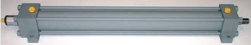 cilindro oleodinamico, cilindro standard ISO 6020/2, con trasduttore lineare magnetostrittivo,