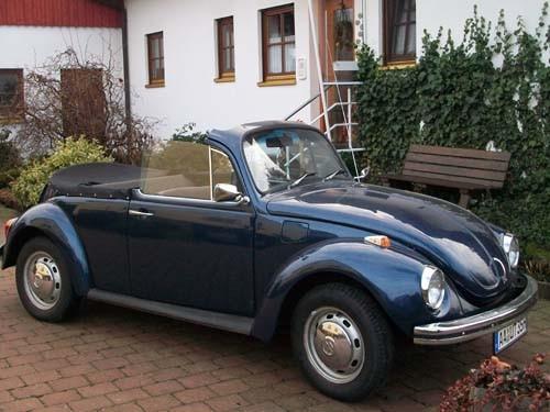 VW Käfer Cabrio Baujahr 1969