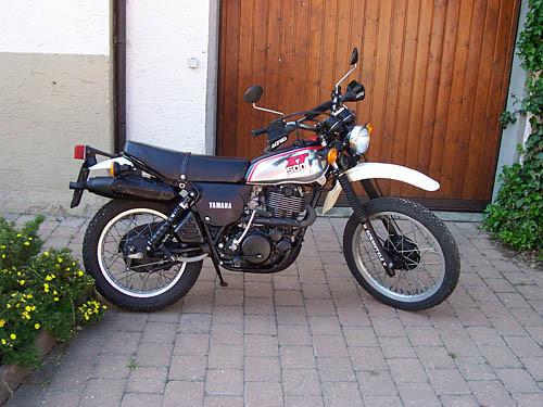 Yamaha XT 500 mit Alutank Baujahr 1978