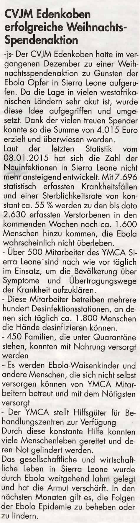 Edenkobener Rundschau KW 04/2015