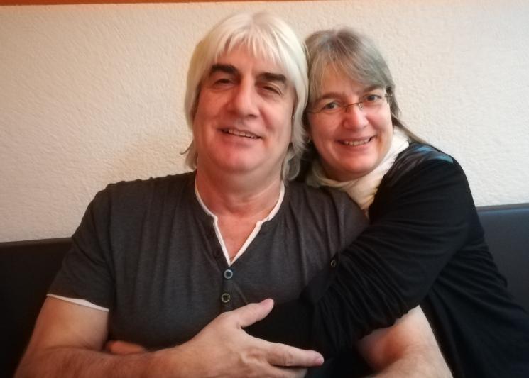 Armin Mattich mit seiner Frau Andrea
