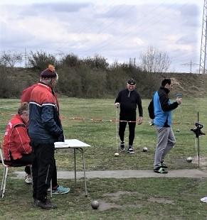 Unser Leichtgewichtler Stefan Münch (rechts) erkämpfte erneut viele Relativpunkte!