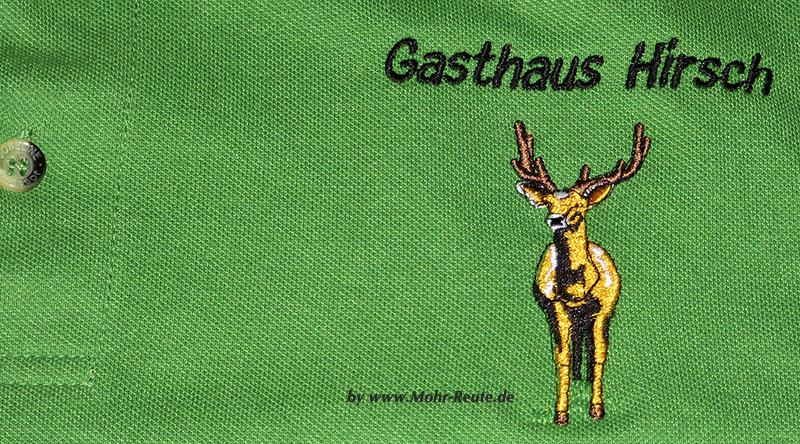 Poloshirt mit Bruststick