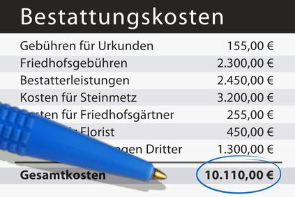 Sterbegeldversicherung Onlinevergleich Nadine Rusch Versicherungsmaklerin Märkische Heide / Unterspreewald / Lübben / Spreewald