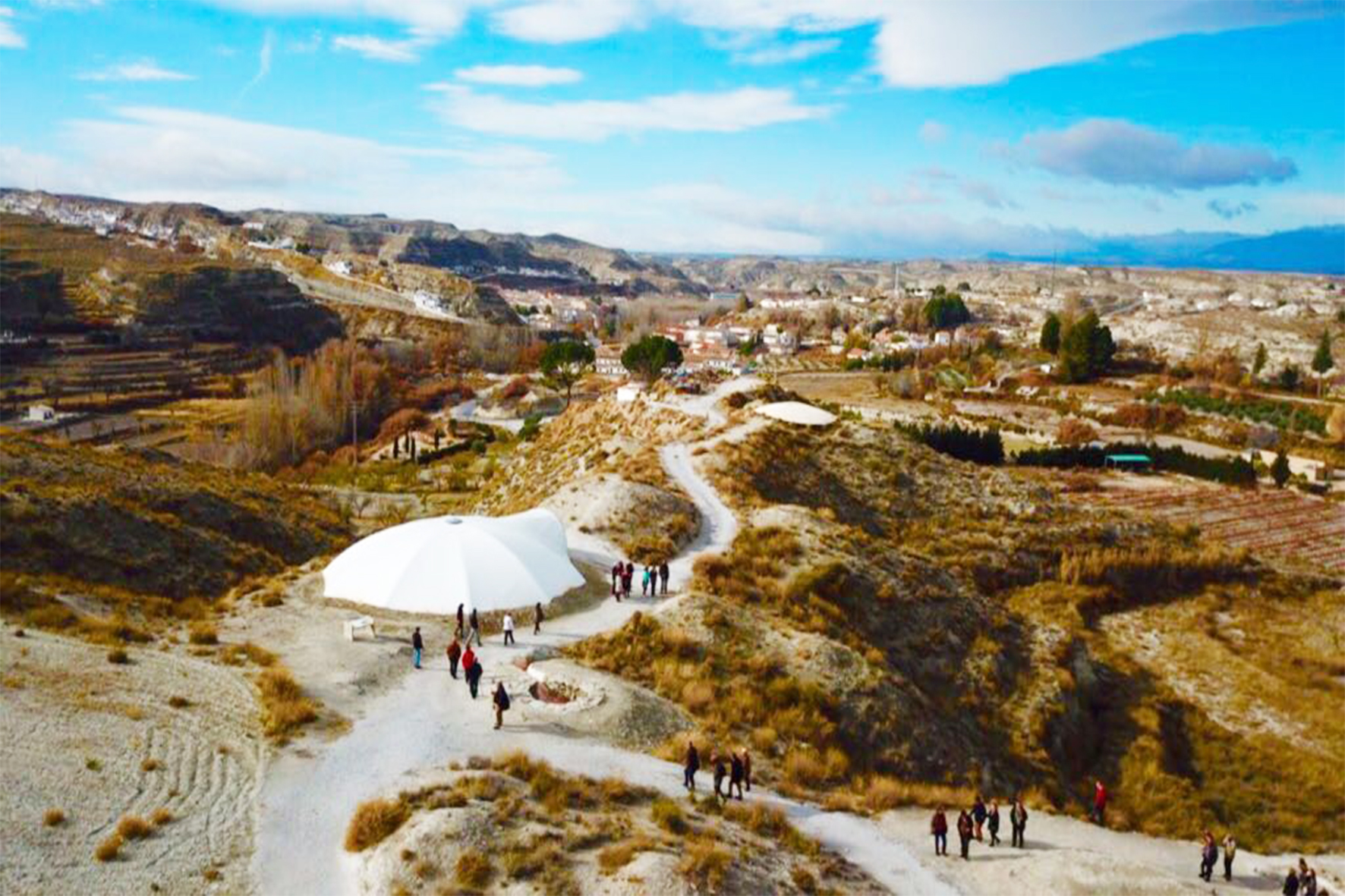 Yacimiento Arqueológico de la Necrópolis de Tútugi de Galera. Foto: venagalera.com