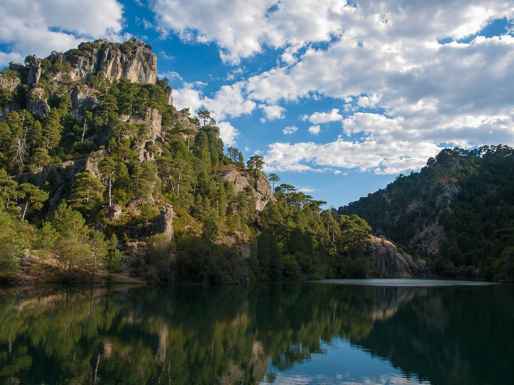 Ríos y pantanos del Altiplano de Granada