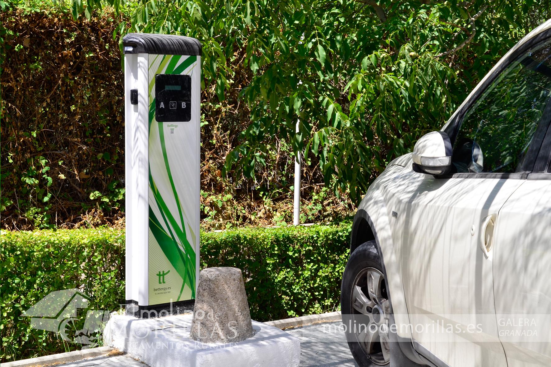 Punto recarga para vehículos eléctricos