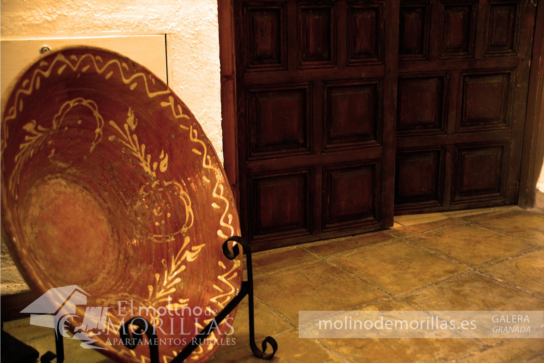 Ornamentación antigua: utensilio de cocina