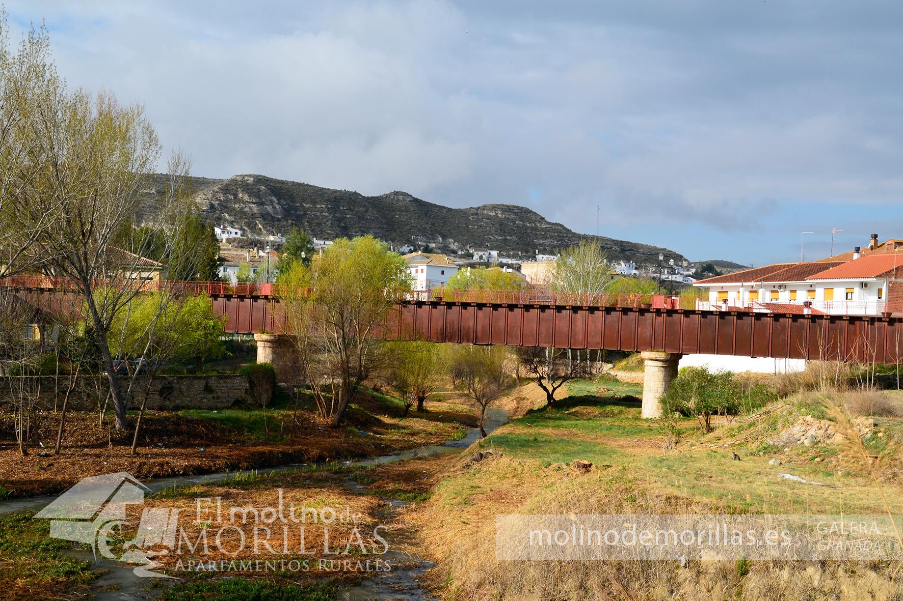 El centenario Puente de Hierro de Galera
