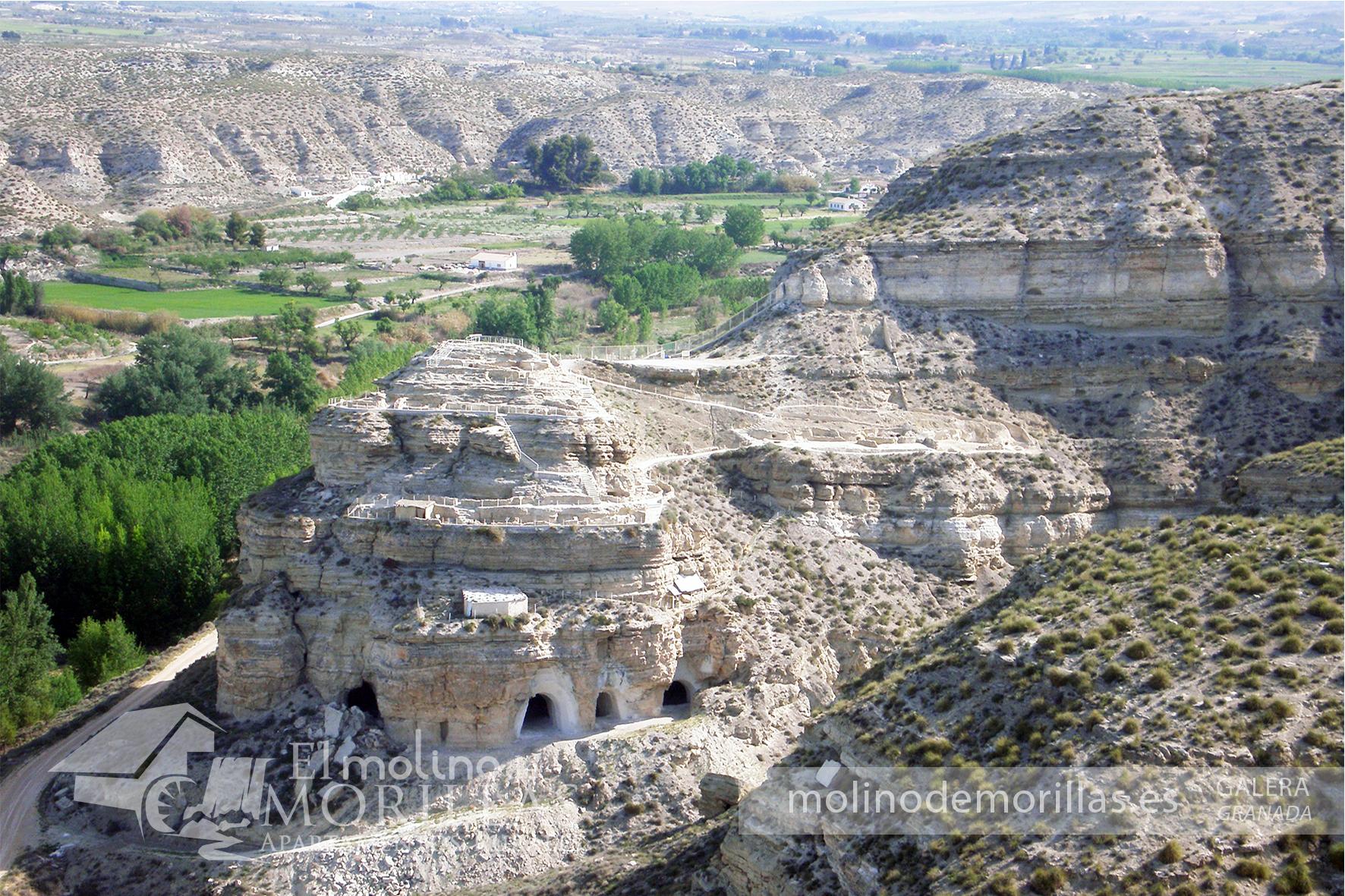 Yacimiento arqueológico del Castellón Alto de Galera