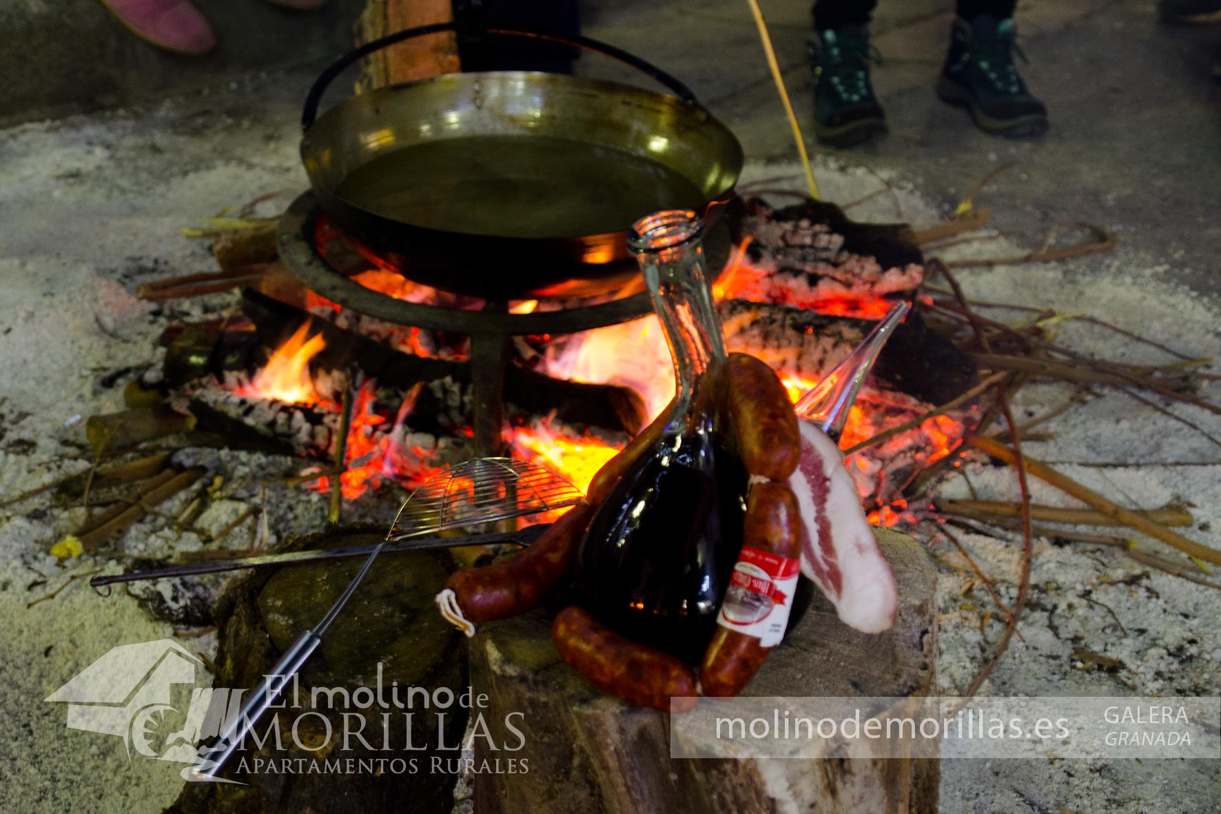 Gastronomía de Galera: Migas de harina