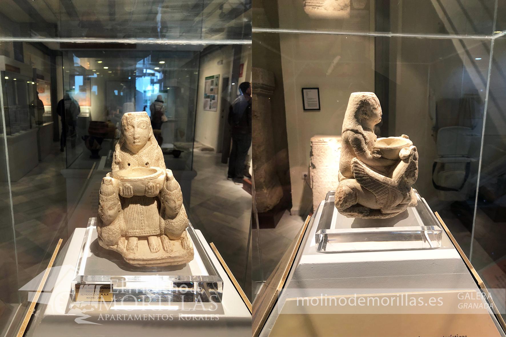Diosa de la Fertilidad de Galera encontrada en la necrópolis íbero-romana de Tútugi en Galera