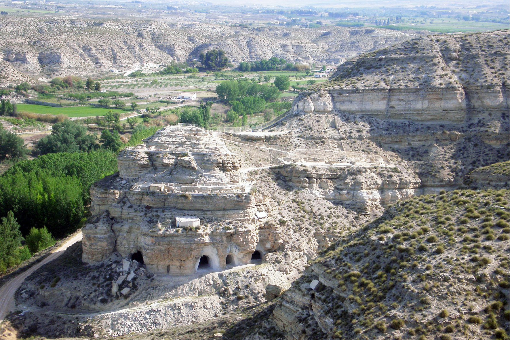 Yacimiento Arqueológico del Castellón Alto. Foto: venagalera.com