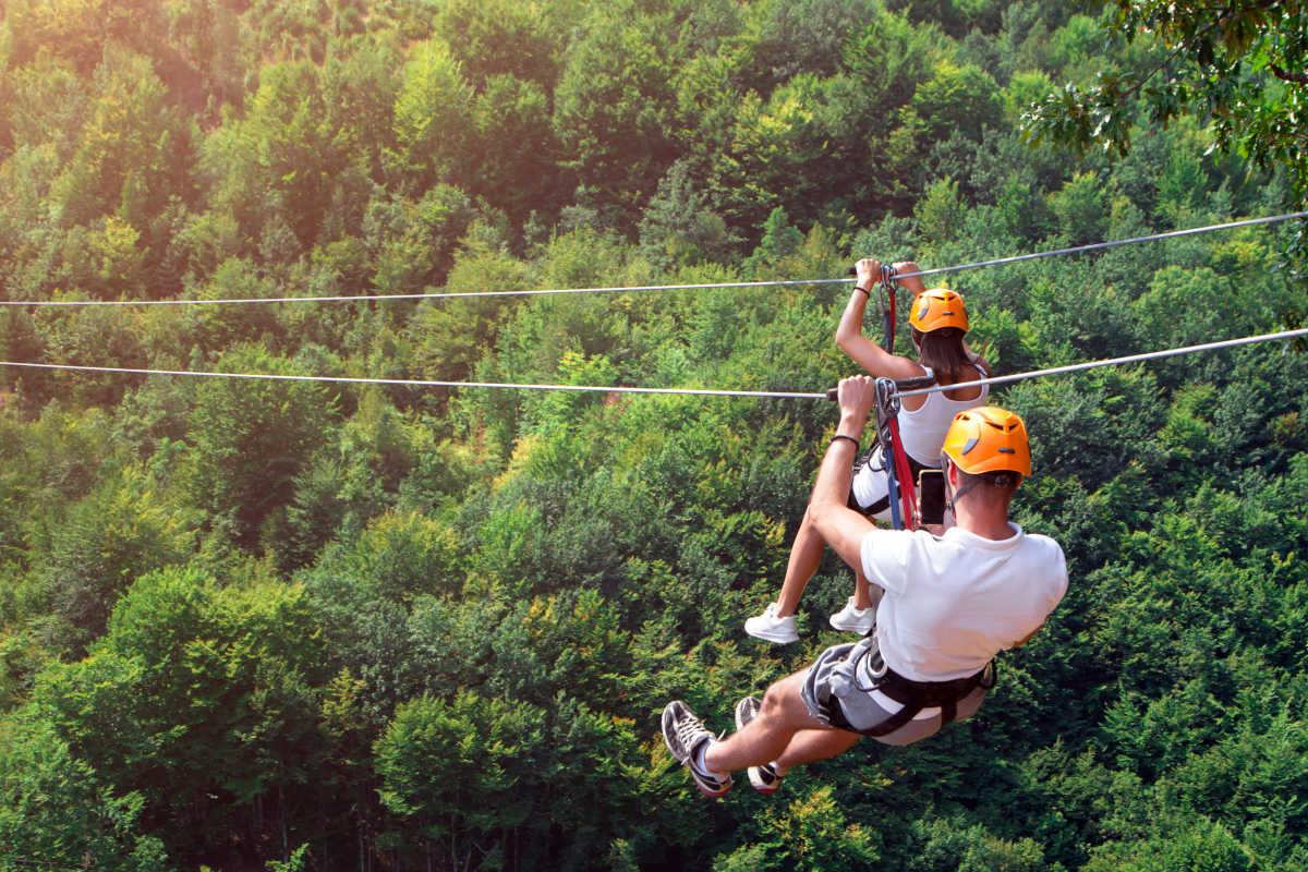 turismo activo ecoturismo altiplano granada tirolina