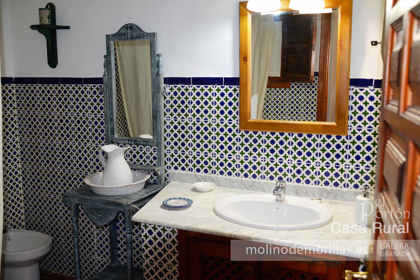 Baño de estilo árabe andaluz