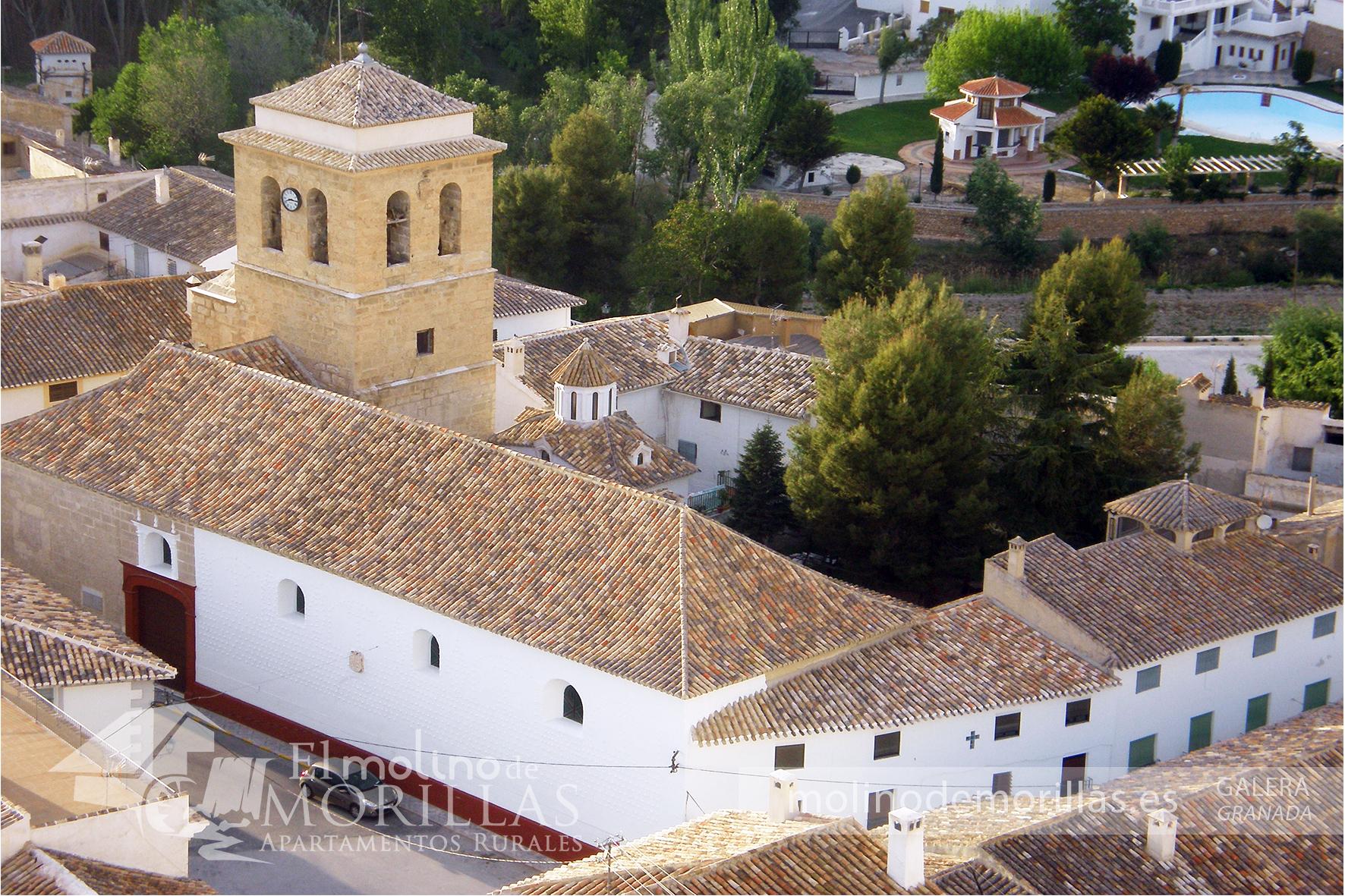 Vista general de Iglesia de Ntra. Sra. de la Anunciación de Galera