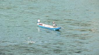 江の川鮎漁