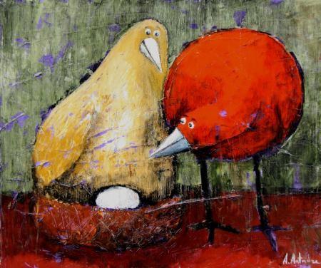"""""""Сюрприз"""". Artist A. Antadze"""