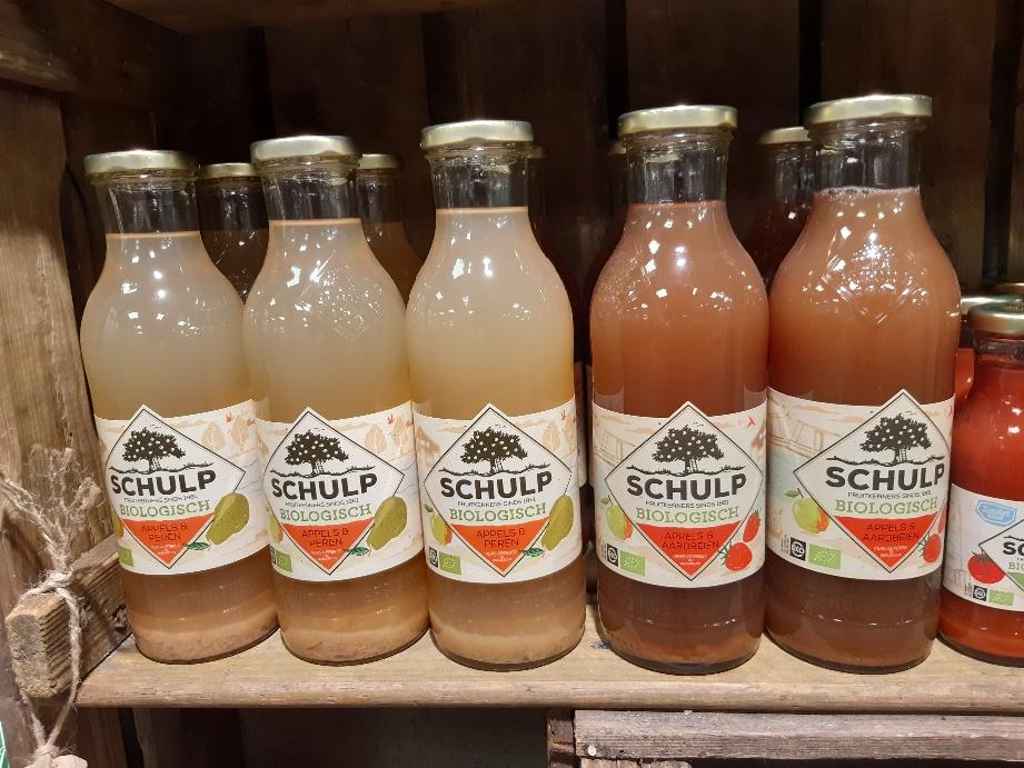 Nu ook grote flessen sap verkrijgbaar div smaken