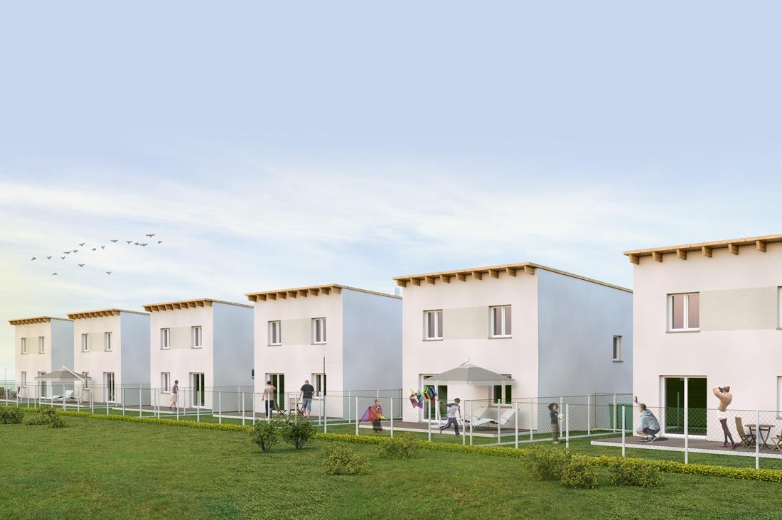 Errichtung von 6 Wohneinheiten, Strasshof an der Nordbahn