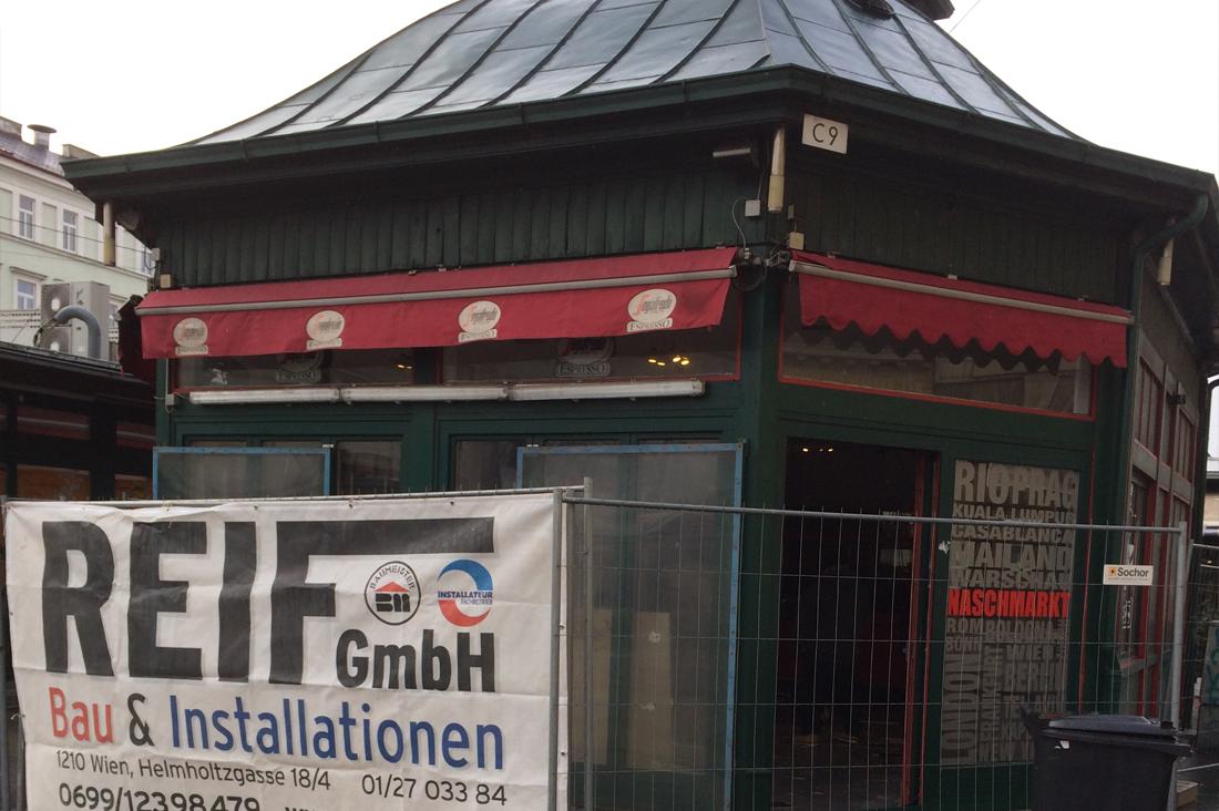 Lokalsanierung Stella, 1060 Naschmarkt