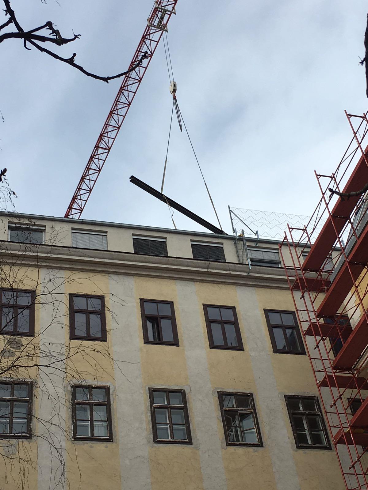 Prinz Eugen Straße 10a, 1040 Wien Trägereinbringung