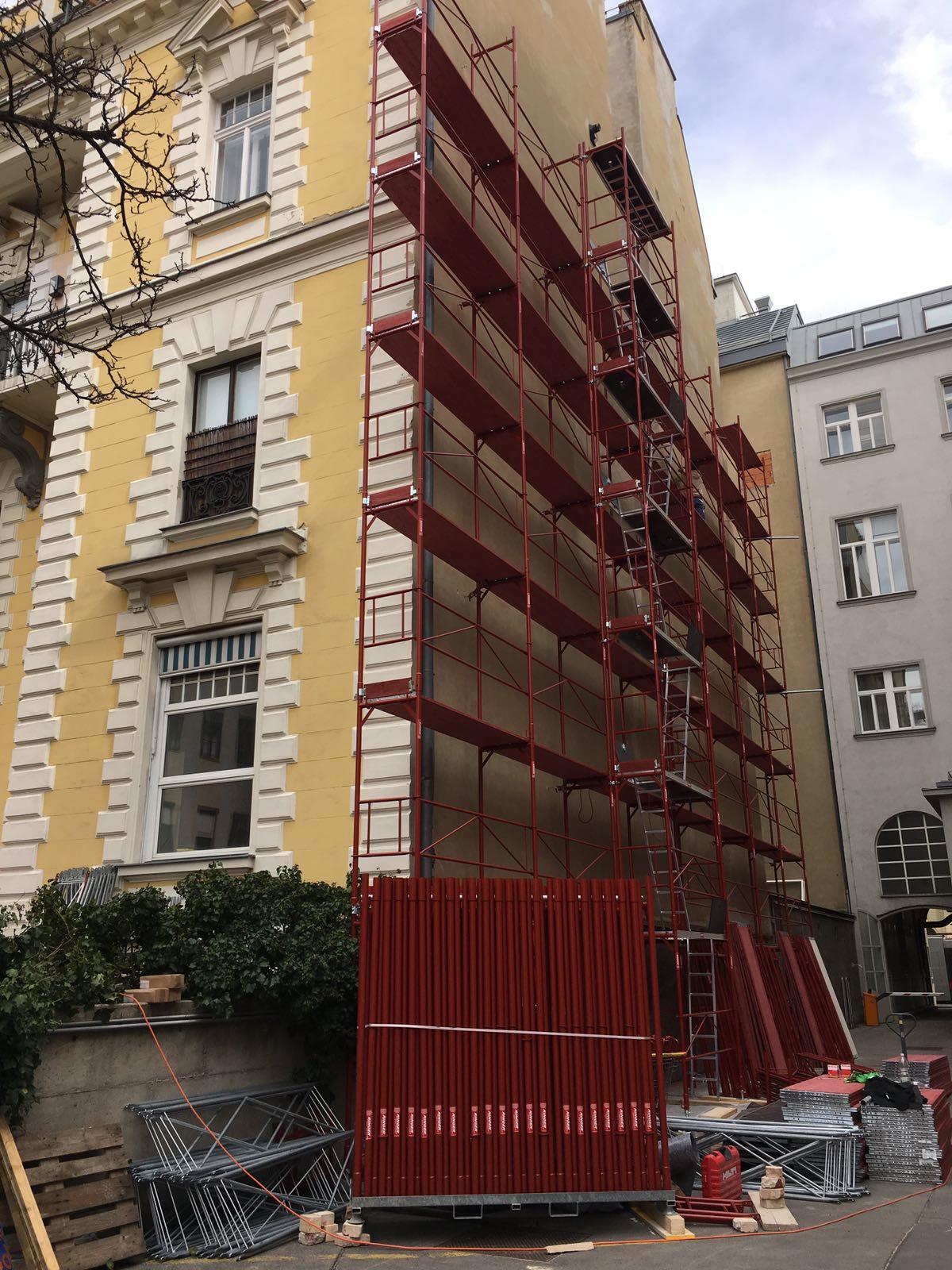 Prinz Eugen Straße 10a, 1040 Wien Seitenansicht