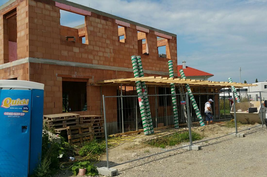 Bauvorhaben Michael Dachler Straße 14, Leopoldsdorf